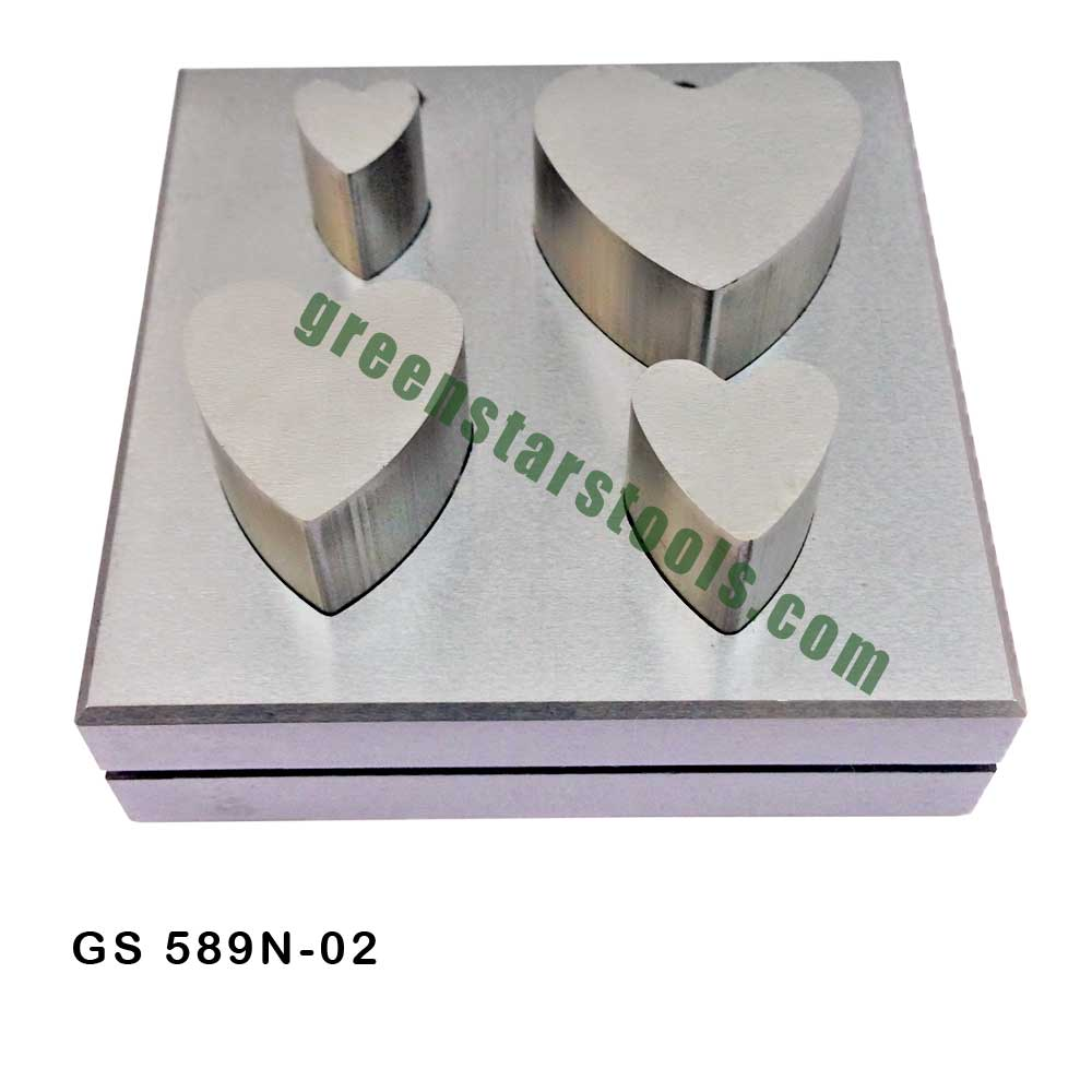Flower Shape Disc Cutter Set Heart Shape Disc Cutter Set